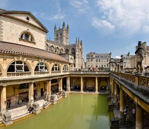 A view of Bath in Somerset