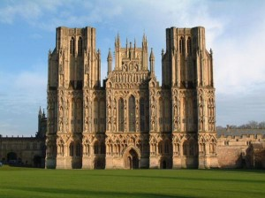 A view of Wells Cathedral in Somerset